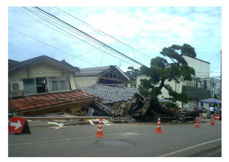 2007年 新潟中越沖地震(地震での災害:建物倒壊)