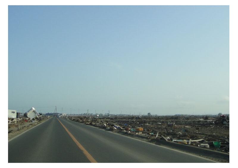 2011年 東日本大震災(地震での災害:津波)