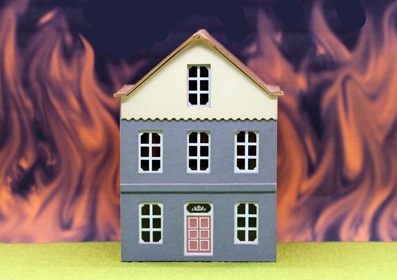 地震で地域によっては火災も!
