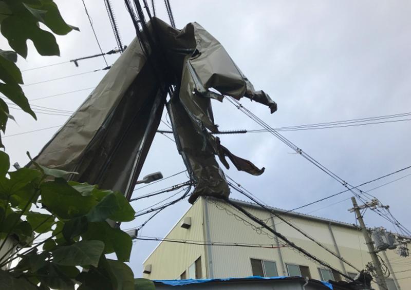 風水害 住宅 被害:2018年台風19号 被害の写真