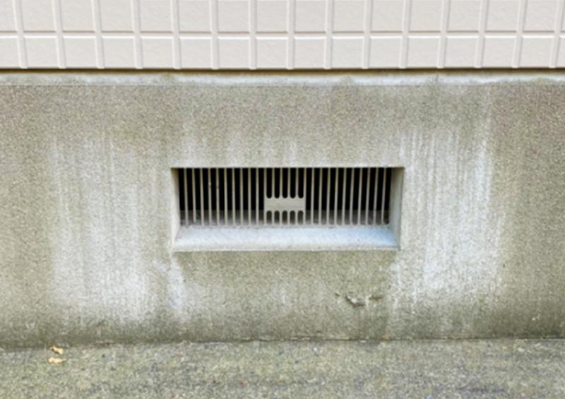 換気 通気 法律 :建築基準法における換気口にネット処置